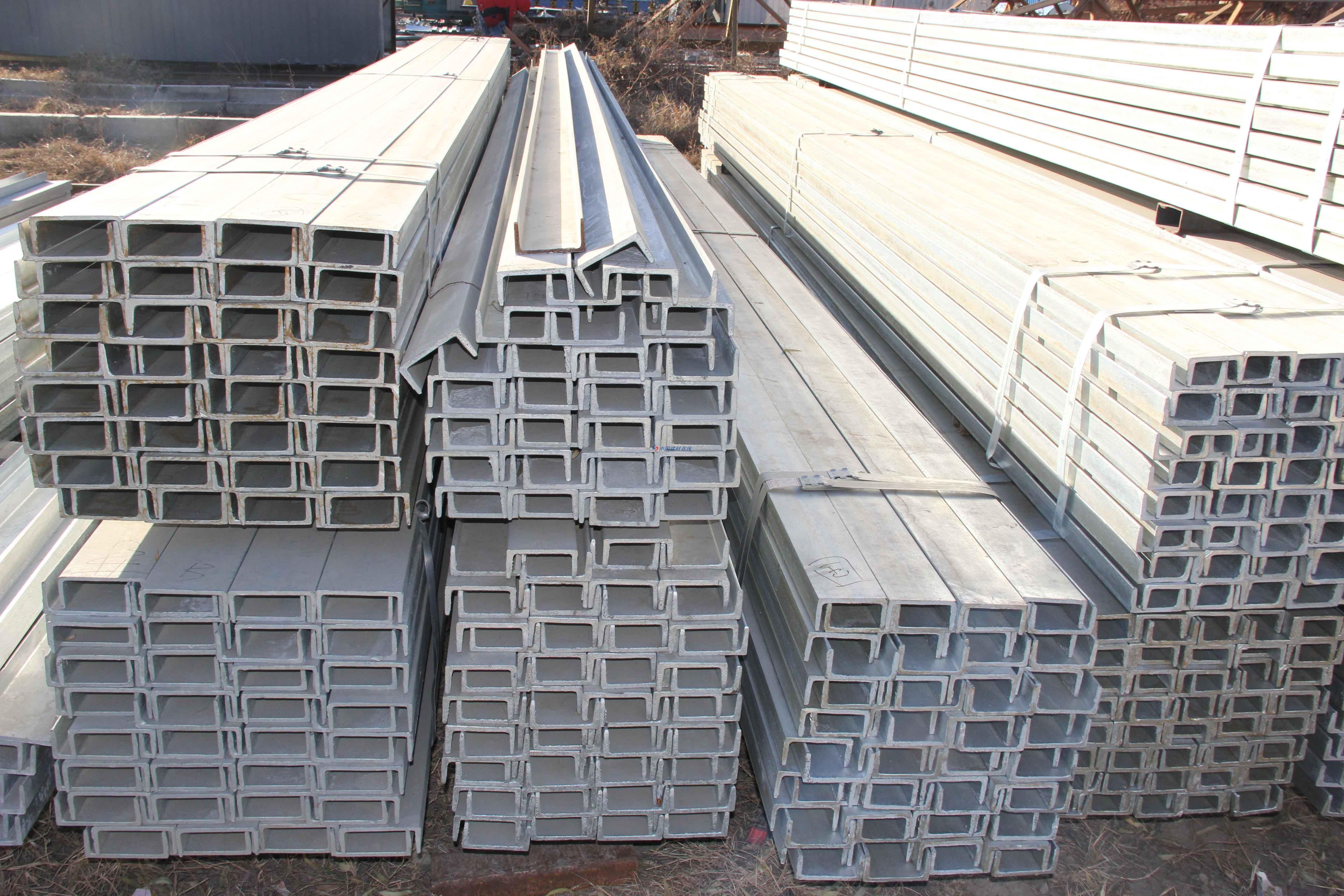 ASTM美标槽钢执行标准 C6美标槽钢规格表