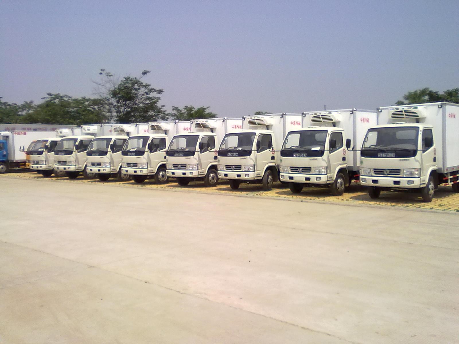 各类型冷藏车专业生产厂家