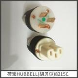 荷宝HUBBELL(胡贝尔8215c玫瑰金 美标发烧音响电源插头 荷宝HUBBELL胡贝尔玫瑰金