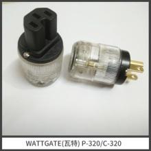 WATTGATE(瓦特) p-320c-320电源插头 美标发烧电源插头