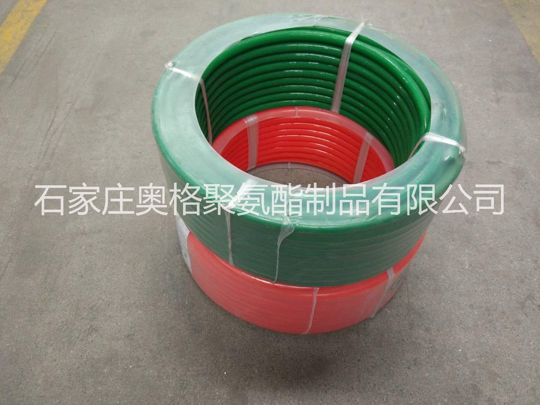 聚氨酯圆带批发价格 厂家直销 聚氨酯圆带 红色光面 可预约订做