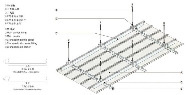 铝条扣天花 铝条扣天花系列 平面铝单板  冲孔铝单板  铝拉网 拉丝铝单板