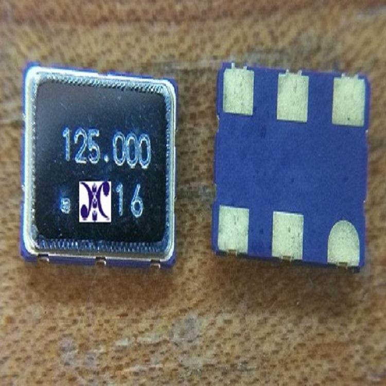 差分输出晶体振荡器7050 125MHz 贴片有源晶振