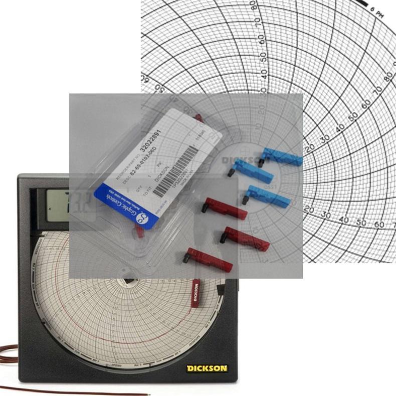 江苏DICKSON圆图纸电话 迪克森记录纸代理商 TH8记录仪纸价格
