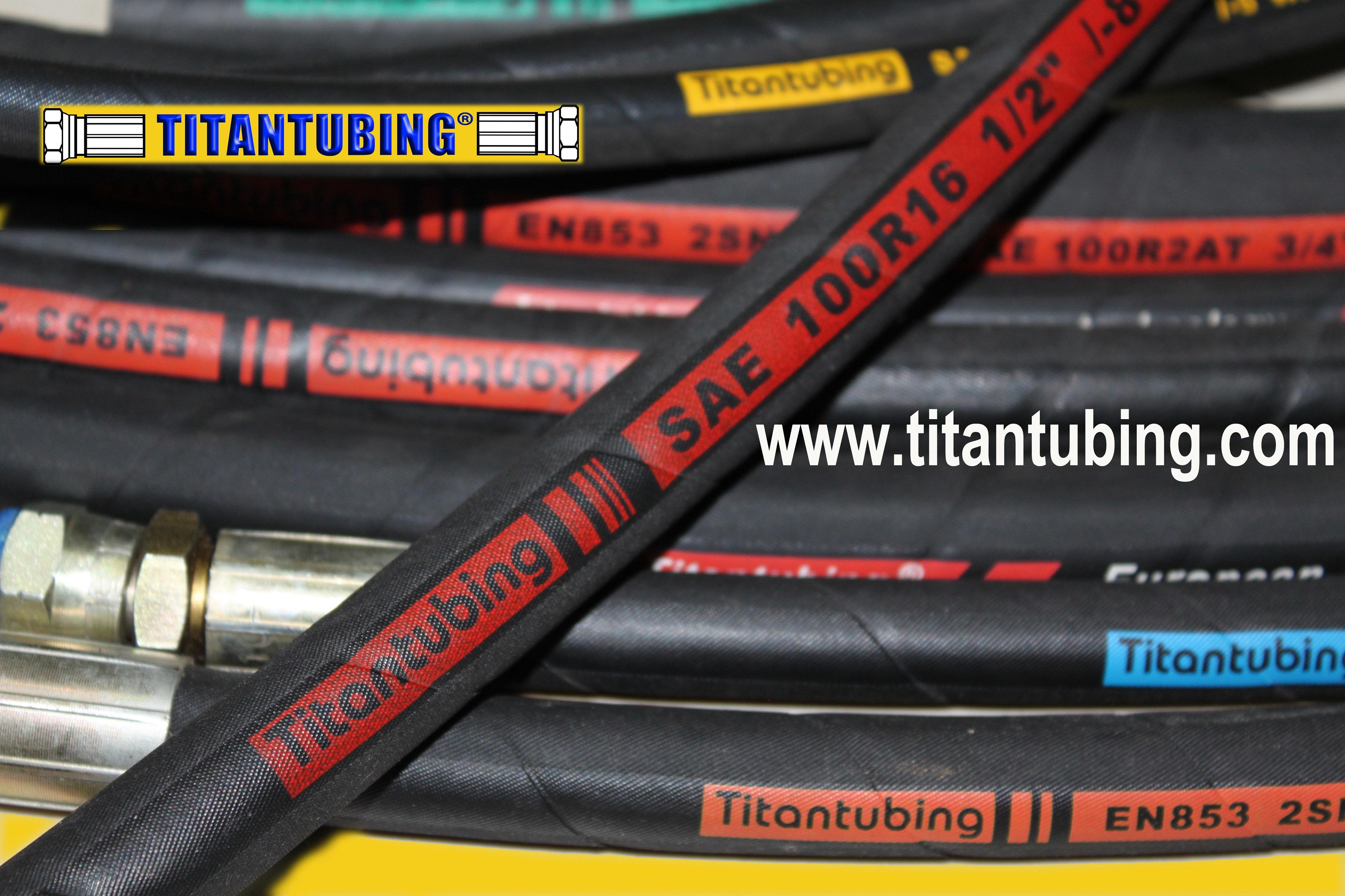 燃油管 空气管  高压油管  钢丝编织管 air hose EN857 钢丝缠绕橡胶管 钢丝缠绕液压管