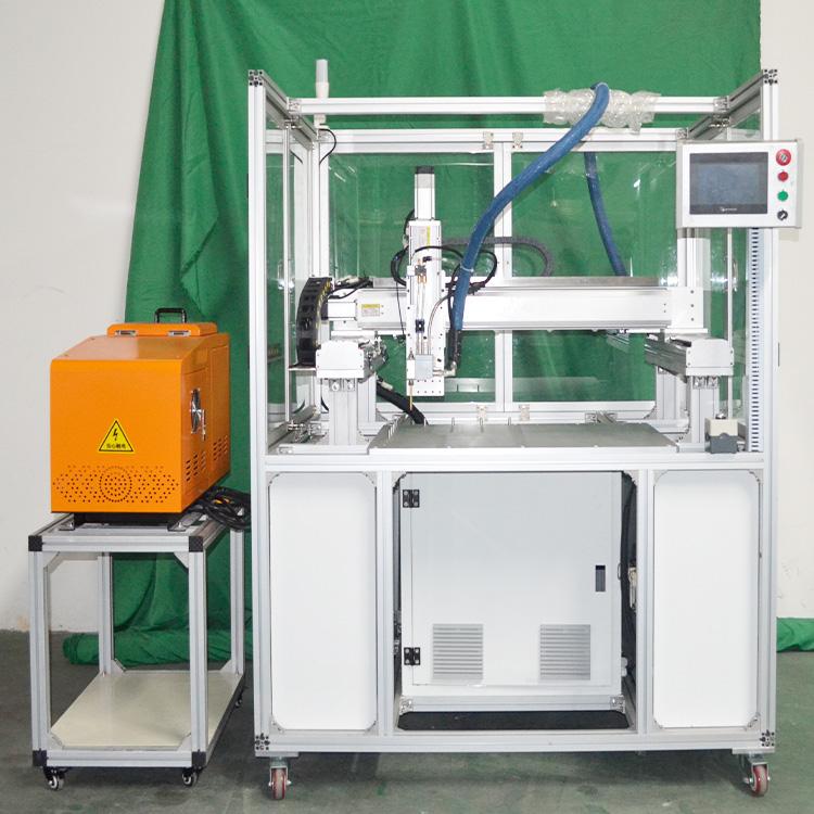 活性炭过滤网三轴点胶自动化设备 汽车过滤网装滤芯设备 过滤网包边框机械 复合滤网三轴点胶自动化设备