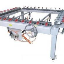 机械螺杆式绷网机 手轮式拉网机 厂家直销手轮式绷网设备批发