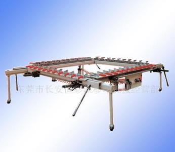 机械式拉网机 厂家直销单夹头拉网设备 厂家直销机械式张网机