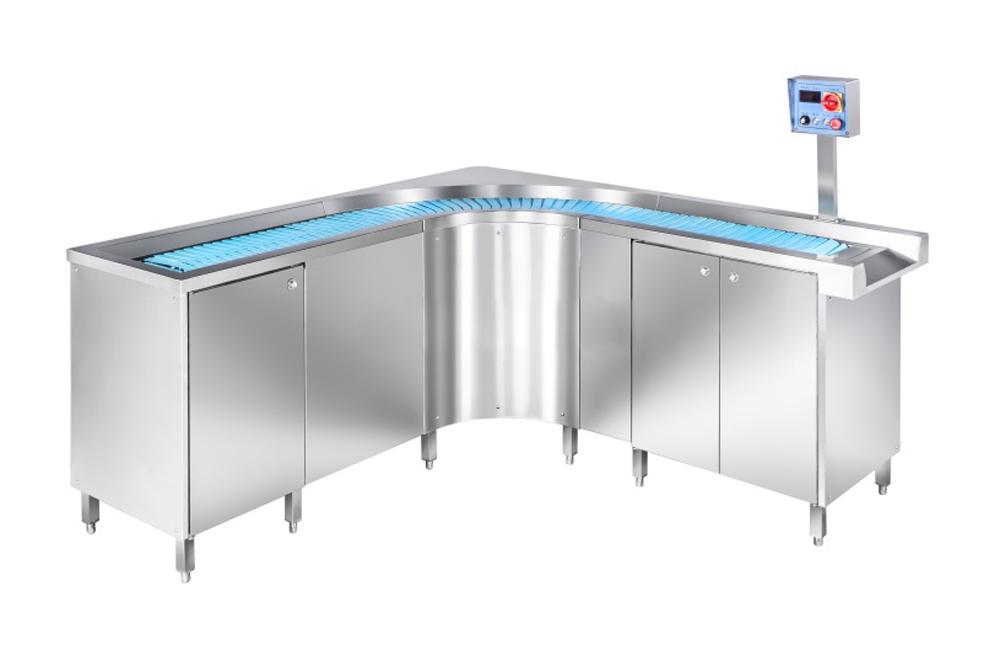 K-TS02柔性链板式餐具回收线,品质保证