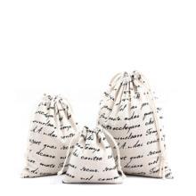 大棉布袋 棉布束口礼品袋 整理衣服棉布抽绳袋 批发零售加大棉布抽绳袋 环保束口袋小布袋超大号玩具收纳整理袋子批发