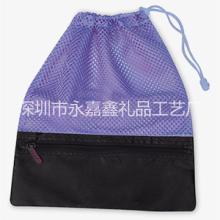 微弹力网布袋玩具包装袋网布束口袋运动型包装袋多功能束口网袋网眼网袋 网布网袋 网球袋高尔夫球袋网布尼龙拼接束口袋批发
