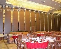 芯贵125型超高型宴会厅移动隔音墙 125型超高型宴会厅移动隔断