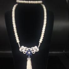 郑州五皇一后珠宝供应珍珠毛衣链