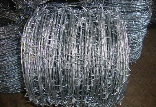 刺铁丝材质低碳钢丝,电镀锌丝,热镀锌丝 刺绳