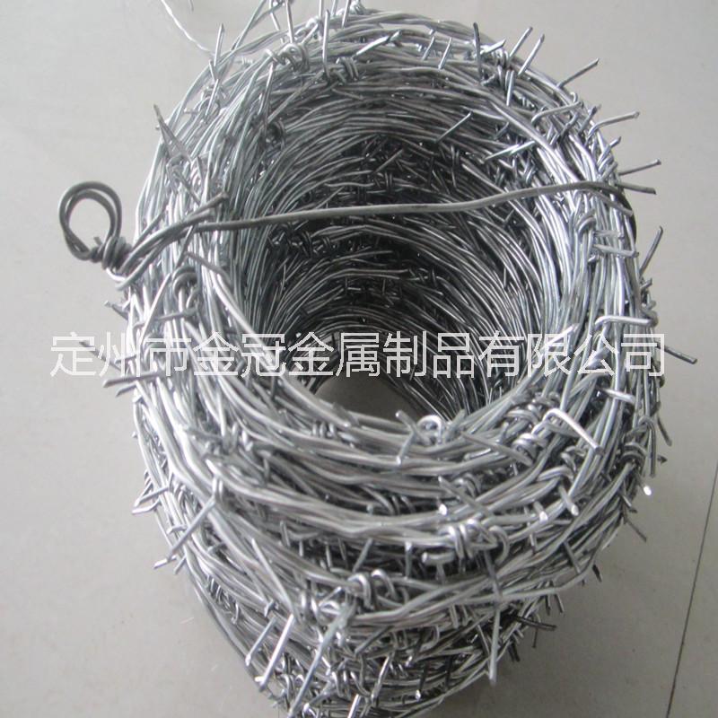 专业生产刺绳 刺丝 双股刺绳