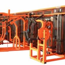竞乐美十二站位健身房专用训练器 大型多功能健身器材商用力量组合器械健身房多人站综合训练器