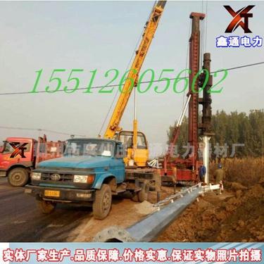 10KV电力钢杆厂家 电力钢管杆 单回路转角杆 终端杆