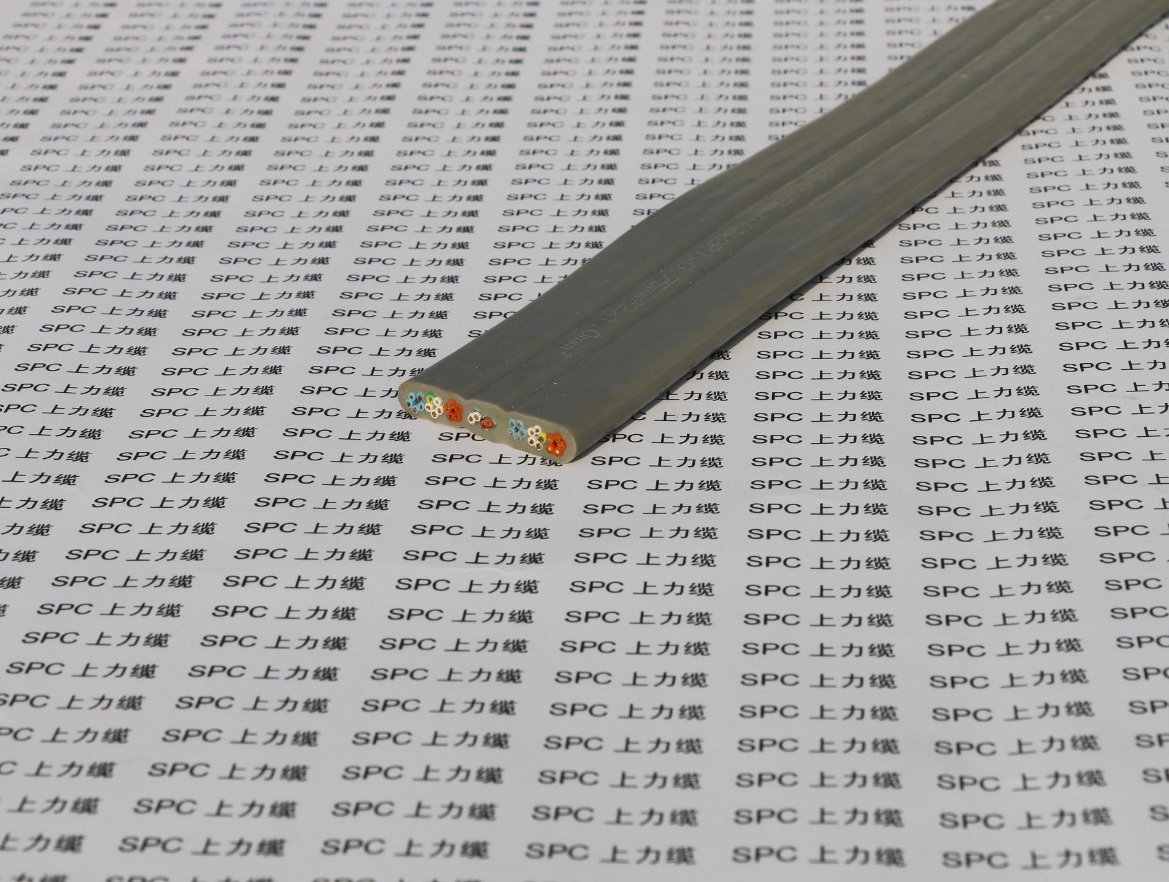 SPCFLAT-ELEVATOR-YY 电梯随行扁电缆TVVB 电梯随行扁电缆TVVBPG带钢丝