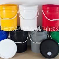 东莞20L塑胶桶 新料20升公斤塑料桶涂料桶20kg广口桶
