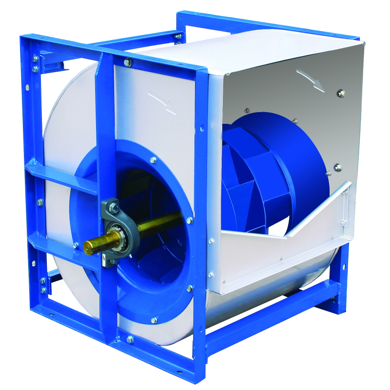 LKQ系列后向单板型离心空调风机 低噪音净化机组使用 皮带传动双进风风机