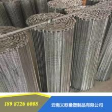 云南输送机不锈钢链网生产厂家 输送机不锈钢链网价格图片