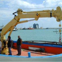 4吨折臂式船用吊机-CSQ4ZB2 厂家供应折臂式船用吊机