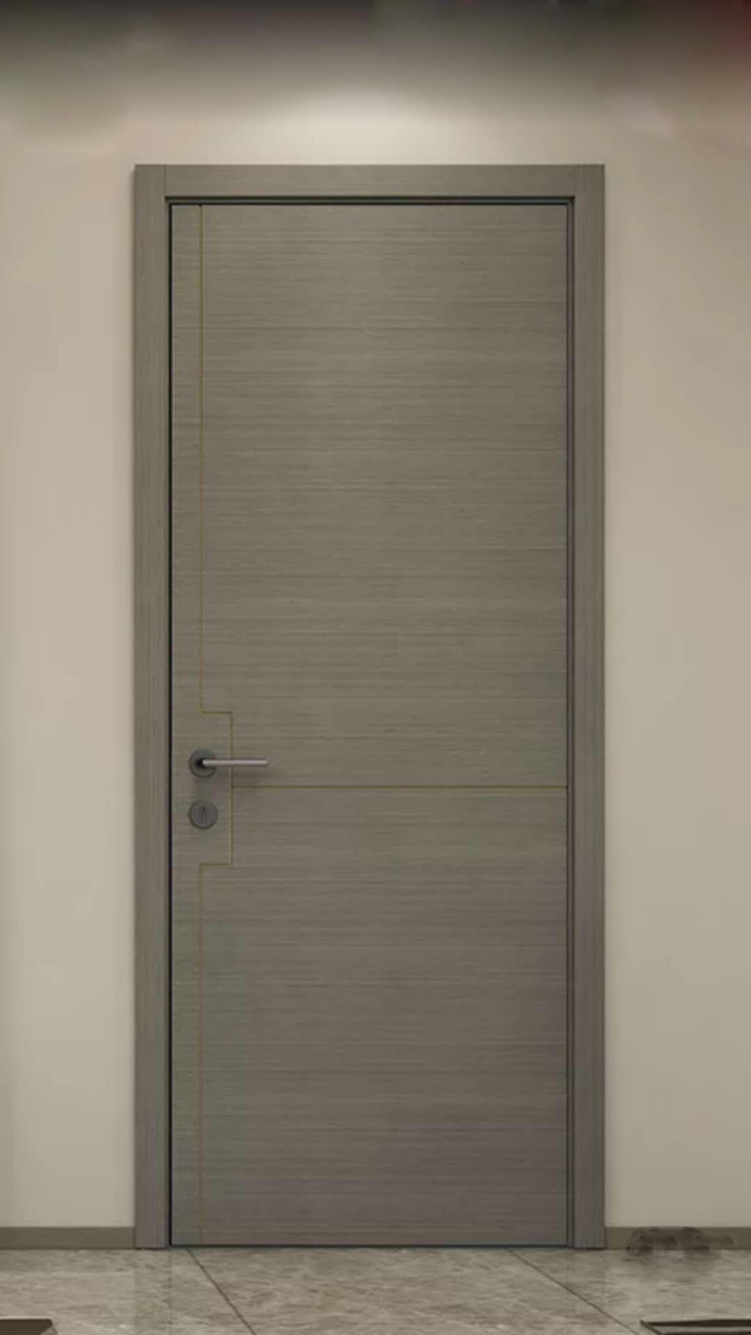 春天木门 现代简约烤漆静音门卧室门套装门定制室内门书房门