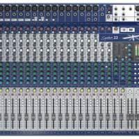 声艺Signature 22 Soundcraft调音台 22路带效果调音台 22路带声卡多轨USB界面模拟调音台