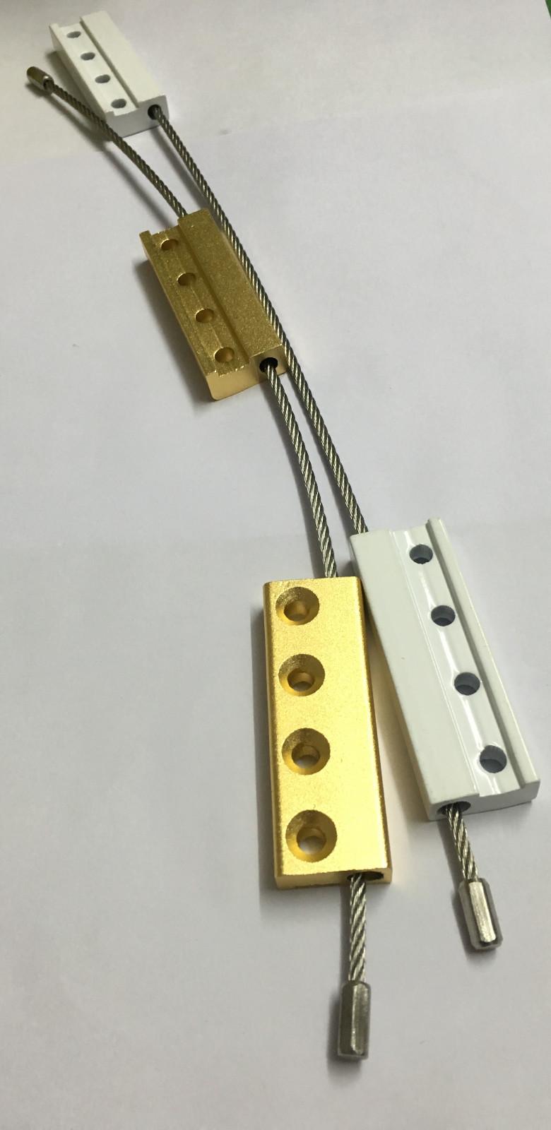 厂价直销纱窗配件防坠条,防坠绳,非标不锈钢防坠条 单面一字锁铝合金门窗锁