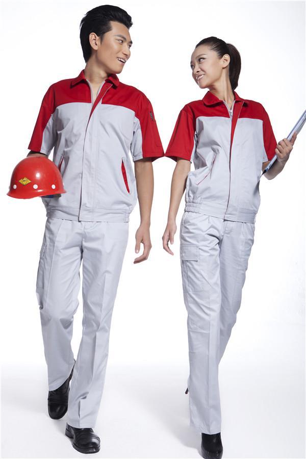 天津工作服天津工作服定制名士制衣厂家定制各类制服特殊标志 名士制衣夏季工作服