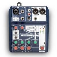 声艺 Notepad-5 Soundcraft 专业音视系统发布全新Notepad 调音台 主播调音台 声卡自带USB音