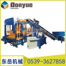 黑龙江QT4-15S型混凝土砌块成型机 黑龙江QT4-15S免烧砖机设备 空心砖机价格