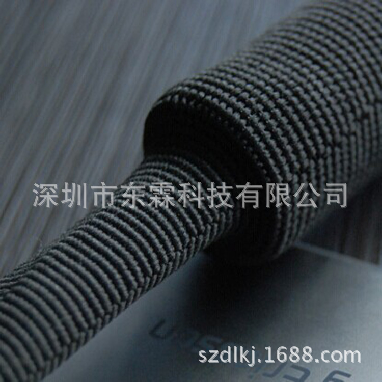 黑色热缩管PET热缩套管环保耐高温绝缘阻燃型热收缩管