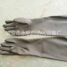 耐酸碱橡胶喷砂手套 手动喷砂乳胶工业手套 工矿农林渔业防护手套