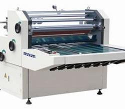 自动水溶性複膜机 双面热复膜机 供应水溶性开窗式两用复膜机