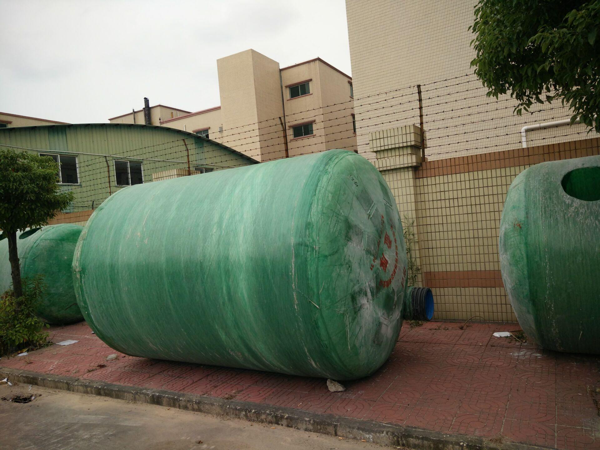 定制1-1000立方玻璃钢化粪池玻璃钢储罐