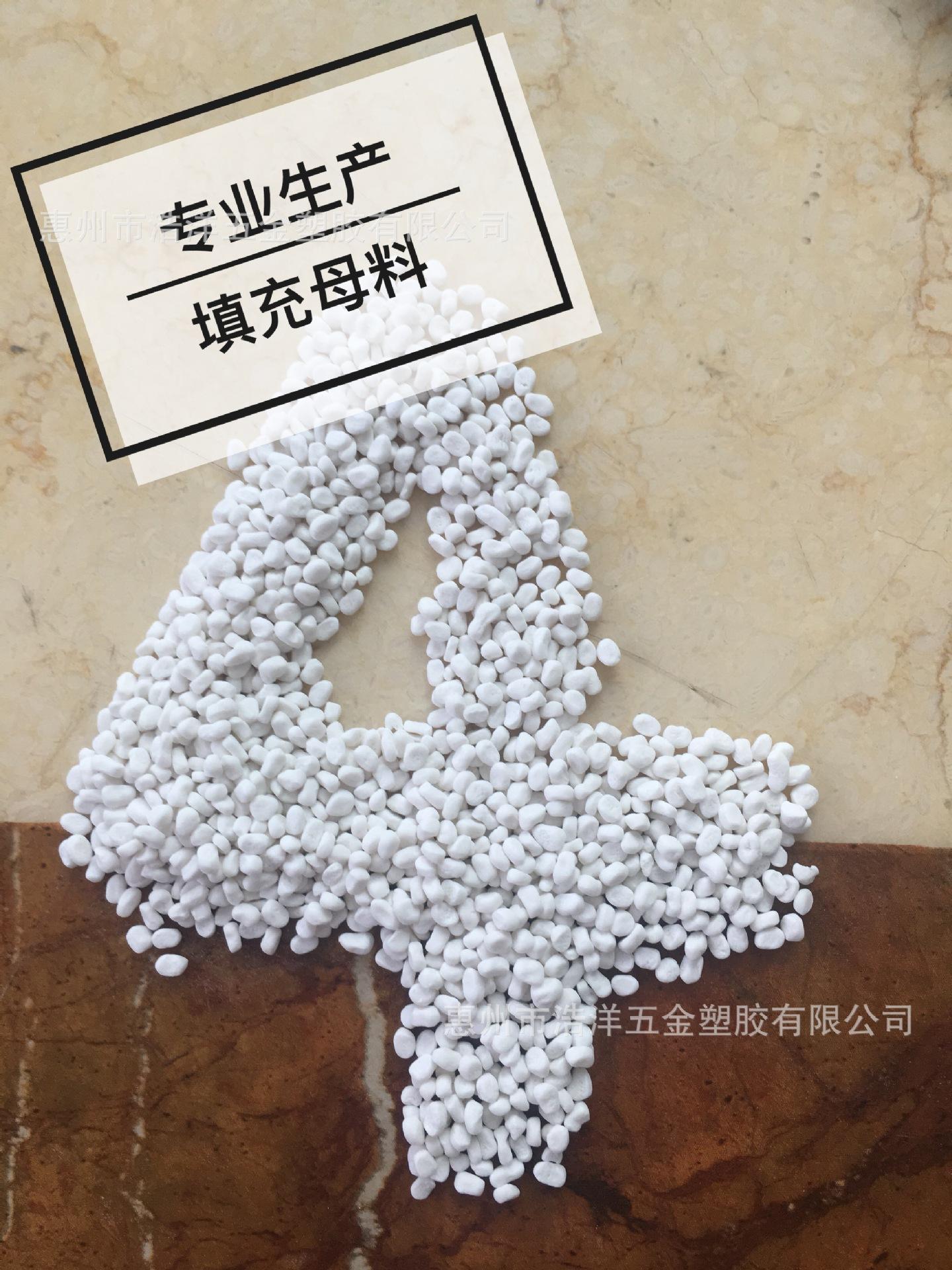PP PE片材碳酸钙填充母料 厂家提供
