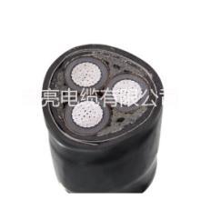 浩华牌宏亮电缆 8.7/15kV YJV 电力电缆 15kV YJV22 3X240