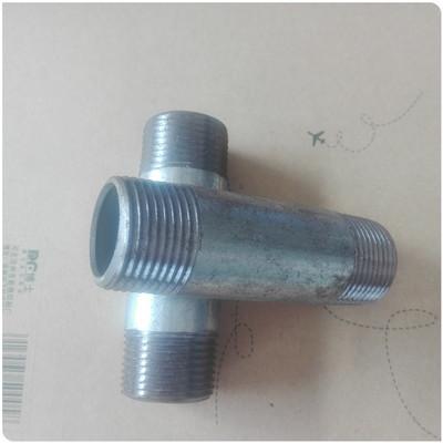 【厂家直销】优质碳钢钢管外丝接头 管接头 钢管接头