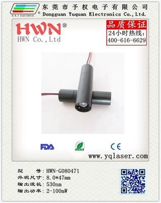 厂家批发供应 激光灯价格 高品质激光头 小功率绿光激光灯透过型外光路
