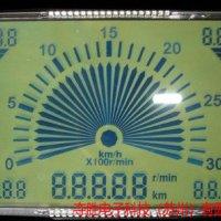 厂家定制黄绿底STN液晶屏,宽视角液晶屏,宽视角显示屏