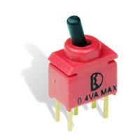 2YCU超小型小电流防水钮子开关_IP67防水摇头开关