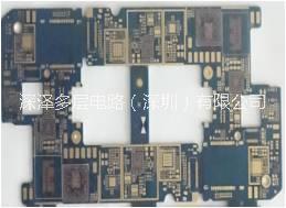 HDI线路板(10层1阶手机板)