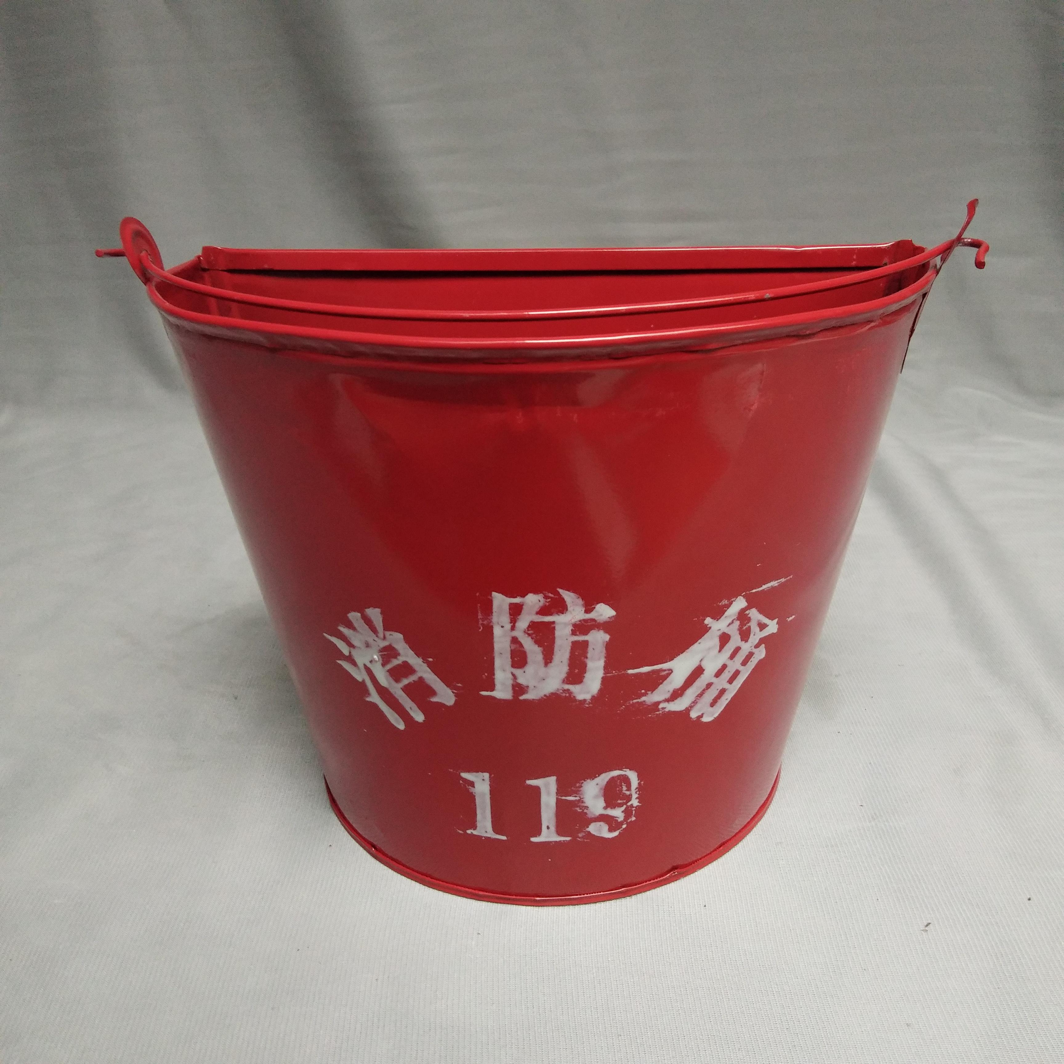 南昌厂家促销消防沙桶 半圆消防沙桶 消防桶  应急铁桶 消防沙桶 消防119沙桶 平安消防器材