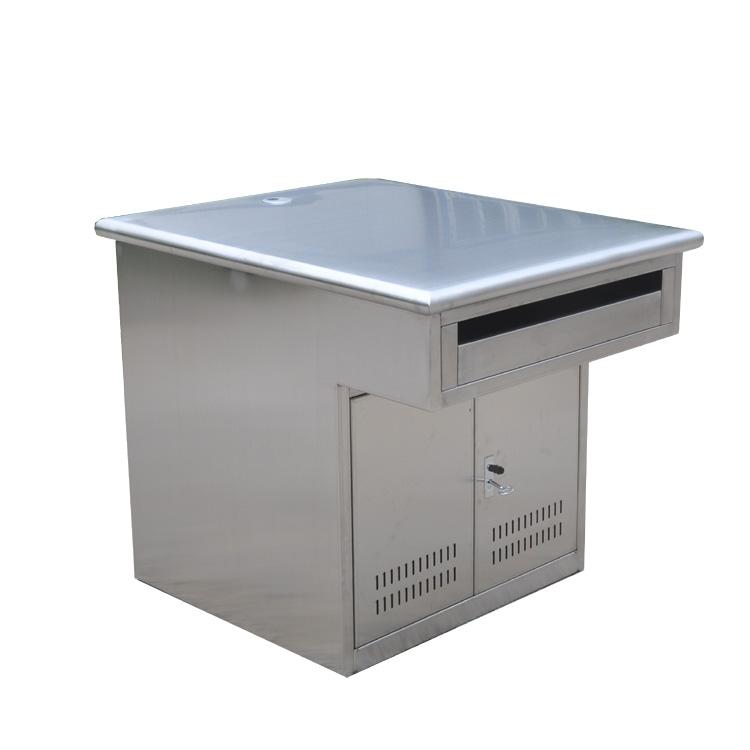 厂家供应单人不锈钢工作台、不锈钢办公桌、书桌