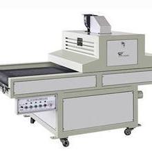 彩色紫外线光固机接四开胶印机 四开双色紫外线光固机接四开胶印机图片