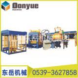 大理全自动黁凝土砌块成型机设备 厂家直销 水泥砖机价格QT6-15