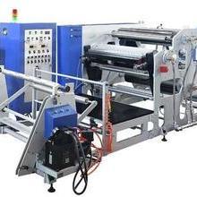 塑料高速热熔胶涂胶机 高精密高速热熔胶涂布机图片