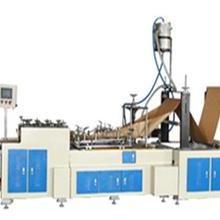 双层纸纸袋制造机  高速双层纸纸袋制造机 带印刷纸袋制袋机图片