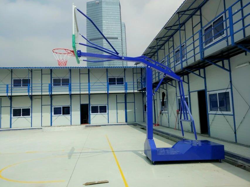 室外可移动篮球架学校小区用篮球架比赛用篮球架户外室外家用可移动比赛篮球架户外室外家用可移动标准比赛篮球架